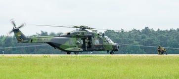 Вертолет NH90 посадки немецкой армии Стоковое Фото