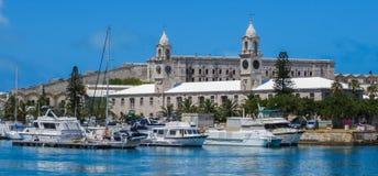 Верфь Бермудских Островов королевская военноморская Стоковое Изображение