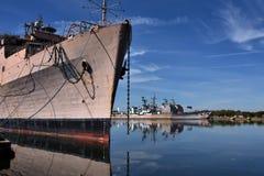 Верфь военно-морского флота Филадельфии стоковые фото