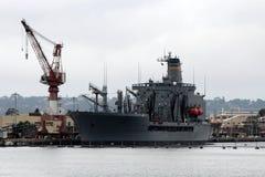 Верфь военно-морского флота Сан-Диего Стоковая Фотография