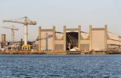 Верфь Devonport военноморская ПЛИМУТ ВЕЛИКОБРИТАНИЯ стоковая фотография