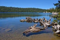 Верхнее голубое озеро Стоковая Фотография
