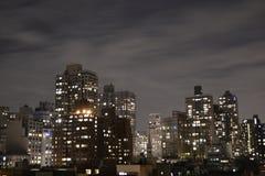 Верхнее Ист-Сайд от террасы Стоковая Фотография