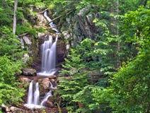 Верхнее река Doyles падает в национальный парк Shenandoah Стоковые Изображения