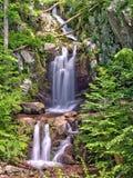 Верхнее река Doyles падает в национальный парк Shenandoah Стоковое фото RF