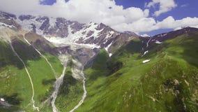 Верхнее Svaneti, Georgia русский ossetia гор федерирования caucasus alania северный сток-видео