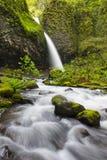 Верхние падения Horsetail, ущелье Колумбии Стоковые Изображения