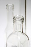 верхние части бутылки стоковое фото