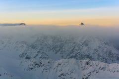 Верхние части вышеуказанного облака Стоковая Фотография RF