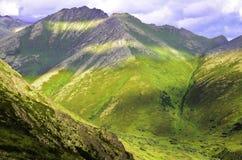 Верхние части горы Стоковые Изображения