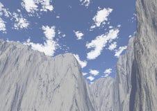 верхние части гор Стоковое Изображение RF