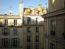 Верхние части крыши в Париже Стоковая Фотография