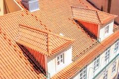 Верхние части крыши Лиссабона стоковые фото
