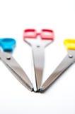Верхние части ножниц Стоковое Фото