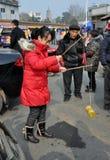 верхние части pengzhou фарфора закручивая Стоковые Изображения RF
