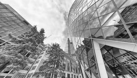Верхний взгляд небоскребов города Лондона, Лондон стоковая фотография rf