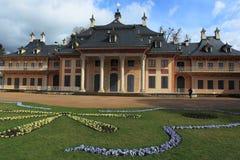 Верхний дворец в Pillnitz Стоковая Фотография