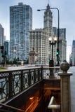 Верхний и более низкий Чикаго Стоковые Фотографии RF