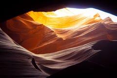 Верхний каньон антилопы в Ariziona стоковое фото