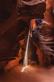 Верхний каньон антилопы на национальном парке антилопы Стоковое Изображение