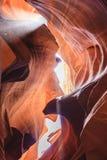 Верхний каньон антилопы на национальном парке антилопы Стоковые Изображения