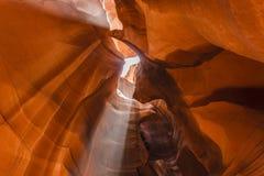 Верхний каньон антилопы на национальном парке антилопы Стоковая Фотография RF
