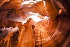 Верхний каньон антилопы на национальном парке антилопы Стоковое фото RF