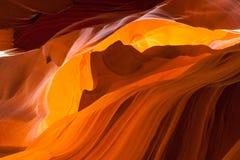 Верхний каньон антилопы, страница Юта стоковые фотографии rf