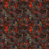 Верхний слой тигра железный красный Стоковые Фото