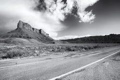 Верхний Byway Колорадо сценарный (U-128) Стоковая Фотография RF