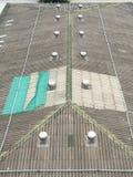 Верхний fo настилает крышу Стоковое Фото
