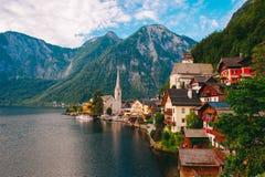 Верхняя Австрия Hallstatt Стоковые Изображения