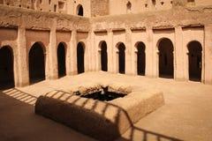 Верхняя галерея Kasbah Amridil Skoura Марокко Стоковые Фото