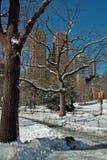 Верхняя западная сторона Манхаттан Нью-Йорк Стоковая Фотография