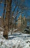 Верхняя западная сторона Манхаттан Нью-Йорк Стоковое фото RF