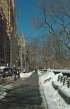 Верхняя западная сторона Манхаттан Нью-Йорк Стоковое Изображение