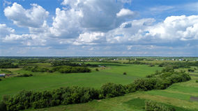 Верхняя сельская местность viev в России стоковые изображения rf