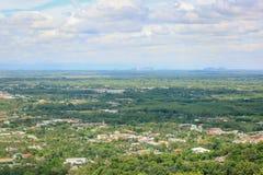 Верхняя точка зрения Hat Yai Стоковые Фото
