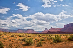 Верхняя трасса Колорадо сценарная около Moad, Юты Стоковое Изображение RF