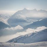 Верхняя часть альп Стоковая Фотография RF