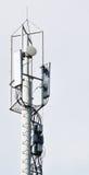 Верхняя часть башни ТВ Стоковая Фотография