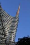 Верхняя часть башни Unicredit Стоковое Изображение RF