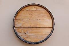 Верхняя часть бочонка вина Стоковая Фотография