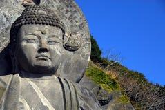 Верхняя часть больших Будды и неба Стоковые Изображения RF