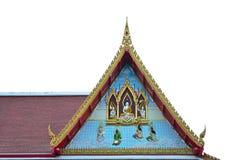Верхняя часть Будды крыша стоковое изображение rf