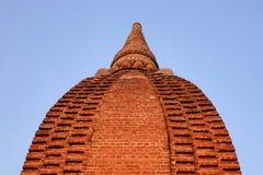 Верхняя часть виска в Bagan, Мьянме Стоковое Изображение RF