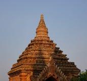 Верхняя часть виска Guni в Bagan Стоковые Изображения