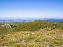 Верхняя часть горы в лете Стоковая Фотография RF