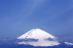 Верхняя часть горы Фудзи Стоковое Изображение RF