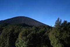 Верхняя часть горы Стоковые Изображения RF